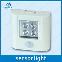 6 LED remote controled led motion sensor light bedroom cartoon lamp