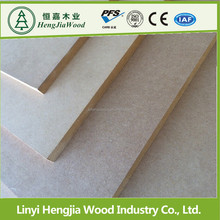 Wood grain mdf panel laminated aluminum foil 2015 years using water-based paint