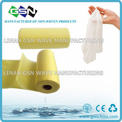 All purpose nonwoven disposable viscose rayon and polyester cleaning wipes