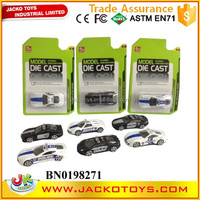 1:64 police car model mini diecast metal car toys