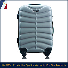 3 pieces a set cheap hard shell ABS lightweight travel luggage trolley