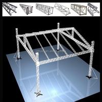 lighting truss lifting/curved aluminum truss/lighting tower truss