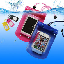 cheap pvc phone waterproof case/cell phone waterproof case/floating waterproof phone bag