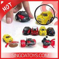 Smallest Car!2010E Infrared RC Q2 Mini Stunt Car 5cm
