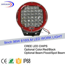"""Popular design 9"""" 96w off road motorcycle headlight for sale"""