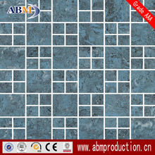 30*30CM bathroom blue ceramic wall mosaic tile wholesale factory price