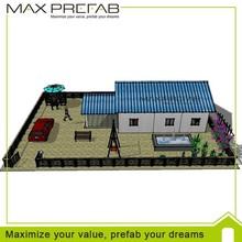 diferentes tamaños modulares prefabricadas y contenedores de lujo de la casa