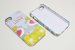 3D Film Sublimation phone cover phone case sublimation printing wholesale high quality for iphone 4 4s 5 5s