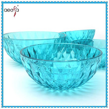 blue glass bowls glass fruit bowl set