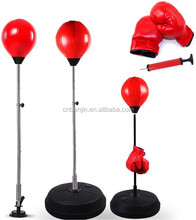 Boxing Stress Reliever Speed Punching Ball w/ Heavy Duty Suction Cup and Spring, Pump