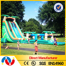 Best designed toys inflatable water slides double side inflatable water slide for sale at cheap price