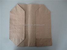 High Weight Capacity 50kg Kraft Paper Chemicals Packing Bags