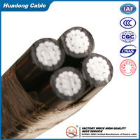 High Quality Aerail Bundle Cable low voltage twisted abc cable
