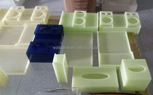 Acrylic paper box with Jade color