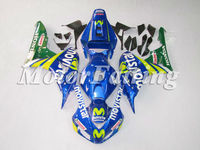 06 07 CBR1000 Fairing Kit for Honda 2006 CBR1000RR 2007 CBR 1000RR CBR1000RR 06 07 CBR 1000RR CBR 1000 RR movistar blue green