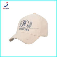 promotional custom embroidery worn-out spandex baseball cap