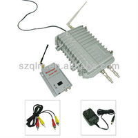 CATV 8CH 8000mW Wireless Outdoor Video Transmitter and Receiver System.