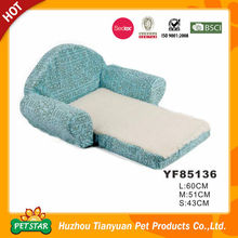 Letter Printed Foldable Sofa Bed Pet's Furniture