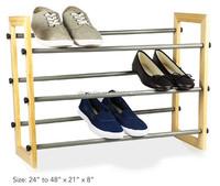 wooden shoe rack shoe store display racks