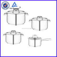 frying pan stainless steel cookware ceramic coating