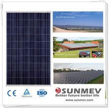 Best quality 250W pv solar panel price with 25 years warranty