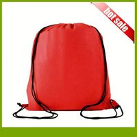 Promotional Foldable Bag Fashion Nonwoven Bag Shopping Drawstring Bag Foldable