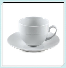 white porcelain tea coffee cup and saucer set