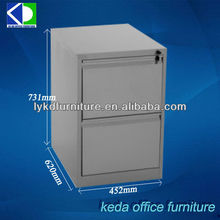 Coated Korean Steel Two Drawer Filing Cabinets For Children