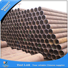 Third party inspected ms erw carbon steel welding pipe with high quality