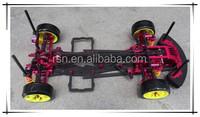 RC car parts made of high quality carbon fiber
