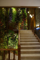 Attractive man-made/emulational/artificial /imitation plant wall