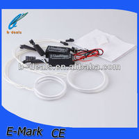 universal ccfl angel eyes auto spare parts for Hyundai i30,ccfl angel eyes halo rings kit for BYD F0