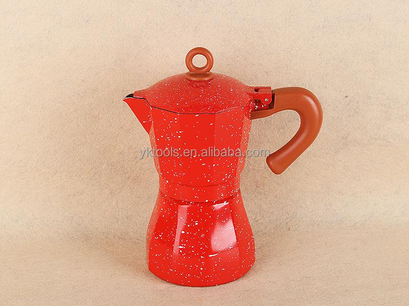 Moka Pot Gasket Design Colored Moka Pot
