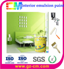 interior washable spray emulsion latex wall paint