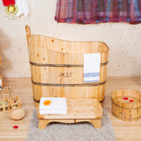 Kangxi handcraft wooden soaking bathtub from China,walk in bathtub with shower