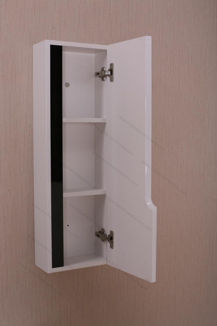 Casa de banho lavatório espelho armário com luz e PVC armário de pia do banhe -> Armario Para Banheiro Pvc