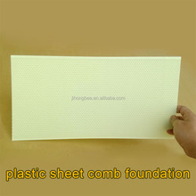 beehive frame plastic sheet comb foundation