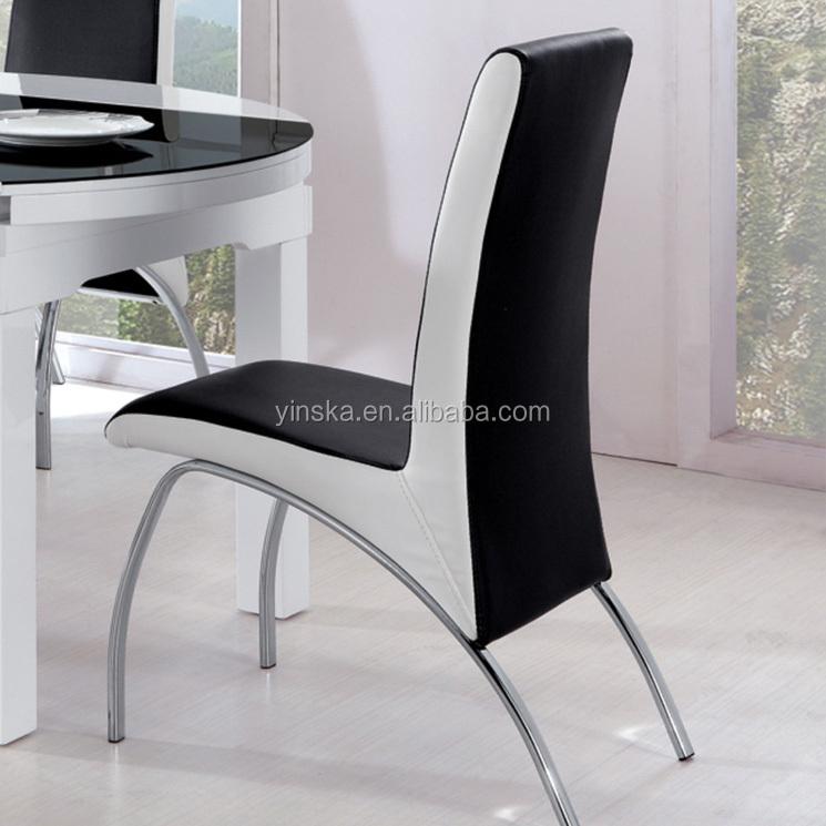 Cristal de extensión superior mesa de comedor redonda con 8 sillas ...