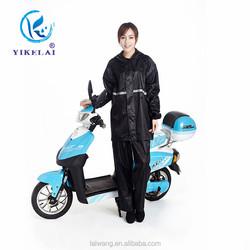 Waterproof Soft Polyester Full Length Raincoat Rainsuit Motorcycle Used Wholesale Raincoats