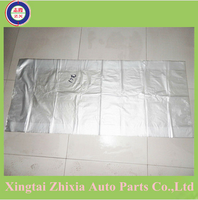 Direct factory price good quality ZX universal style--145cm*65cm clear plastic disposable car seat cover