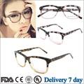 2015 nuevo modelo mujeres gafas de marco acetato de gafas ópticas lente eyewear del marco gafas mujeres marco