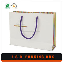 FSD Cheap Price DIY Design Luxury Wholesale Paper Shopping Bag