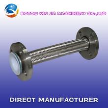 smooth bore or convoluted teflon PTFE hose/SS304 braided teflon PTFE hose