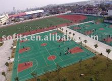 Sports Product,Basketball Sports Flooring,Synthetic Turf For Tennis & Basketball Court Or Running Track