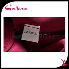 Hot Sale Fashion Red Silk Dress Made in China