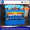 Steel Colored Step Glazed Roof Tile Making Machine