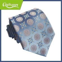 Prevalent dot with wonderful floral hot sale star design men necktie