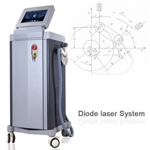 808nm Best quality DL1 diode hair removal laser with CE