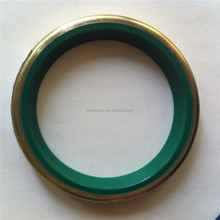 New products UN metal dust wiper seal, hydraulic PU copper shell seal