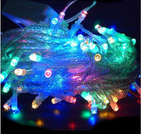 China best sell Artificial LED decorated Christmas tree light 2016 new product led string rope ball light